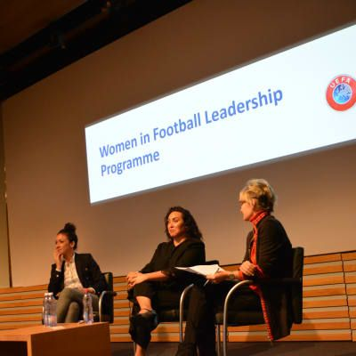 FIFA and UEFA working together to empower women leaders