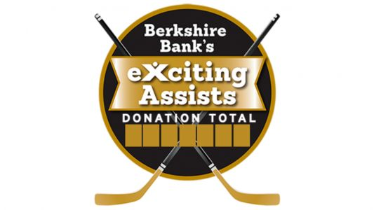 Berkshire Bank Foundation To Donate $100 For Each Bruins Assist To Local Charities