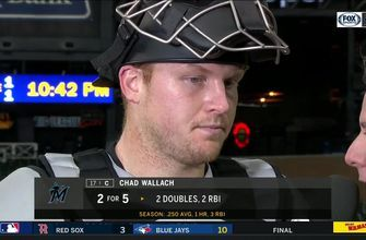 Chad Wallach on his clutch double: 'I was just looking for it up, and I got it'