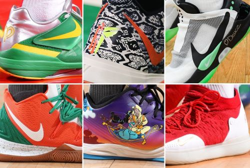 NBA Playoff Kicks of the Night