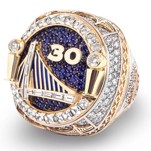 The Warriors Receive Their 2018 NBA Championship Rings