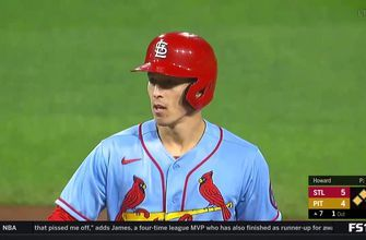 Tommy Edman RBI base hit caps Cardinals' five-run 7th, gives St. Louis 5-4 lead over Pirates