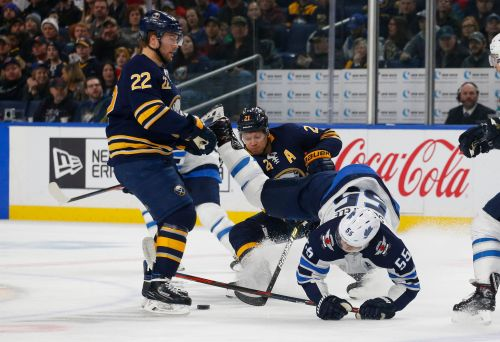 Wheeler scores go-ahead goal, Jets beat Sabres 3-1