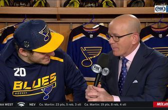Steen on Barbashev's hat trick: 'Everyone was pretty pumped'