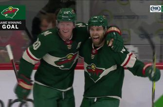 Wild's Suter scores shorthanded, Zucker buries game-winner in OT
