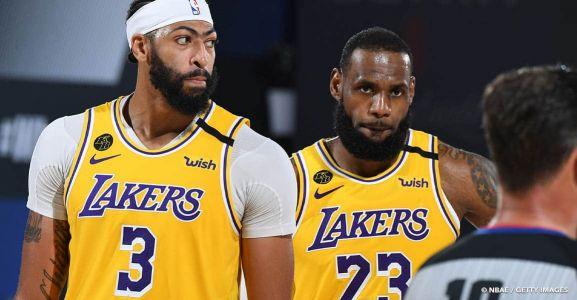 LeBron James & Anthony Davis, une promesse commune lors de la réunion aux Lakers