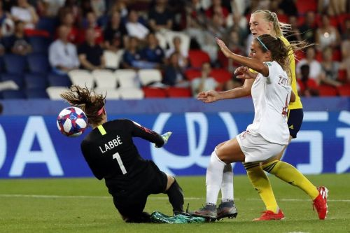 Blackstenius gives Sweden last-16 women's World Cup victory over Canada