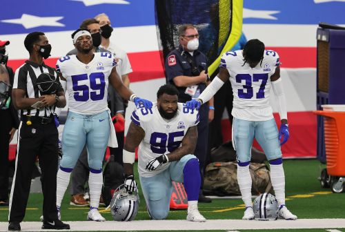 Cowboys DT Dontari Poe: Conversation with Jerry Jones on kneeling during anthem was 'all positive'