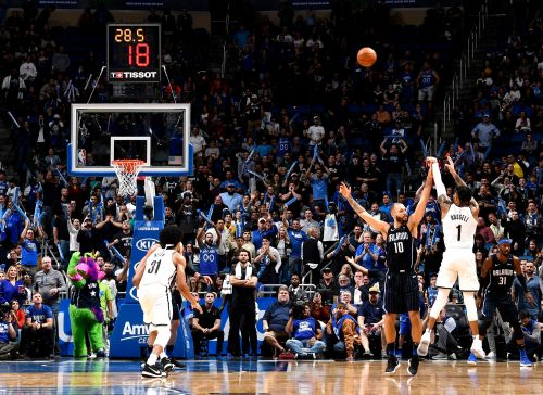 D'Angelo Russell pumps in 40 as Nets rally to stun Magic