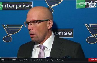 Mike Yeo: Jake Allen 'gave us every opportunity' in win over Maple Leafs