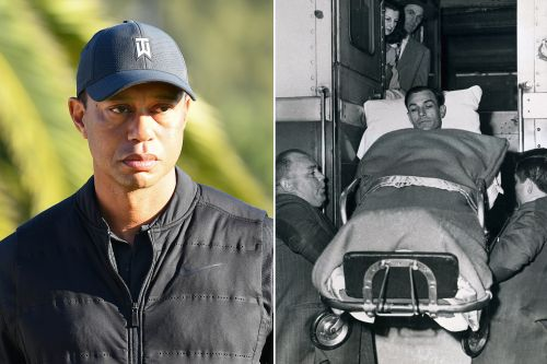 Tiger Woods hospitalized after roll-over car accident in Los Angeles