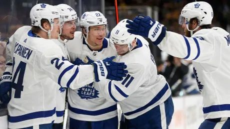Matthews breaks stalemate as Leafs push Bruins to brink