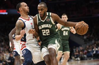 Bucks' Khris Middleton misses Thunder game due to sore neck