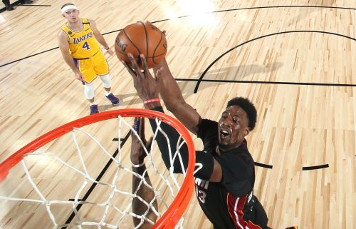 Bam Adebayo's return wasn't enough for Heat to upend Lakers