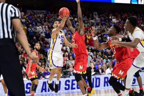 March Madness: Maryland fans call foul over LSU's winning shot