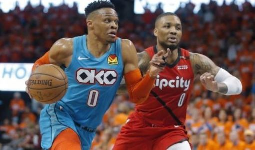 Gros contre, shoot dans la bouche, and-one, chambrage, le duel entre Russell Westbrook et Damian Lillard était immense