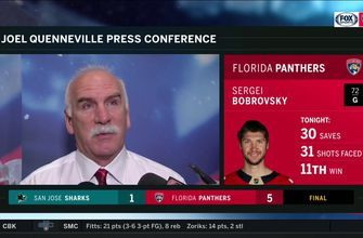 Joel Quenneville on 5-1 win: 'I thought we stuck with it from start to finish'