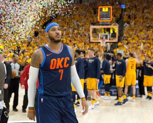 Thunder agree to trade Carmelo Anthony, protected first-round pick to Hawks