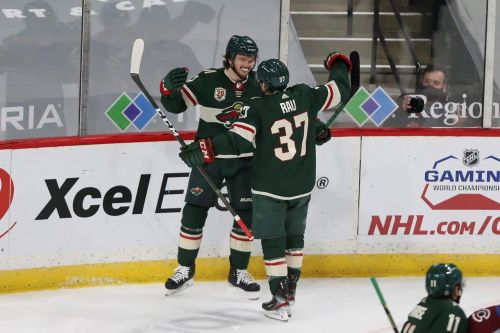 Kevin Fiala's hat trick leads Wild's 8-3 thumping over red-hot Colorado