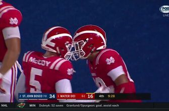 Week 8: Bryce Young drills Mike Martinez for the Mater Dei TD