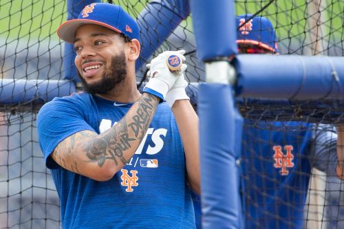 Dominic Smith channels Patrick Mahomes as he eyes Mets breakthrough