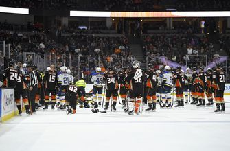 Postponed Blues-Ducks game rescheduled for March 11