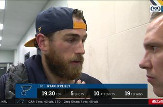 O'Reilly on Johnson's Blues debut: 'He gave us a chance to win'
