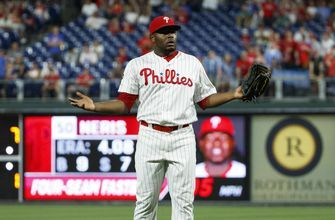 Phillies closer Héctor Neris suspended for 3 games