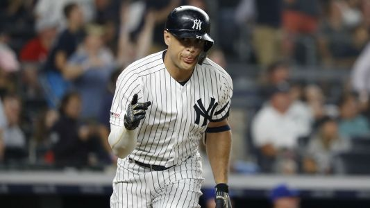 Giancarlo Stanton injury update: Yankees slugger not starting Game 2, considered day-to-day