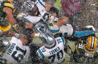 Packers stop Panthers comeback one yard short, improve to 8-2