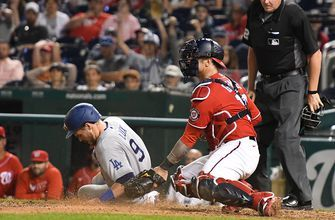 Dodgers win eighth straight, playing small ball to beat Nationals, 5-3