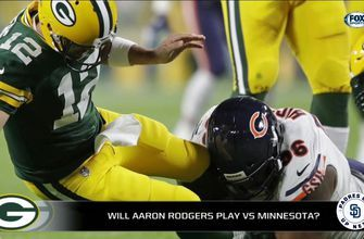 Richards: 'If I'm the Packers, I do not play Aaron Rodgers vs. Vikings'