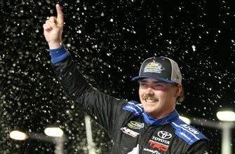 Brett Moffitt: 'I didn't want any drama here. I just wanted a party.' | FOX NASCAR