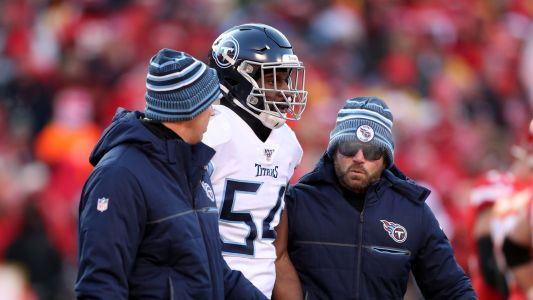 Titans' Rashaan Evans ejected for punching Broncos tight end Jake Butt