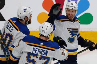 Surges by Schwartz, Tarasenko have Blues one win away from Cup Final