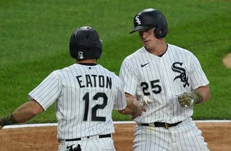 Andrew Vaughn's two-run shot lifts White Sox over Royals, 3-1