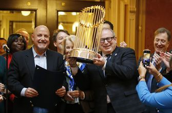 "Manfred apologizes for calling WS trophy a ""piece of metal"""