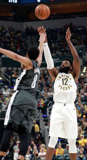 Oladipo scores 25 points to lead Pacers past Nets 132-112