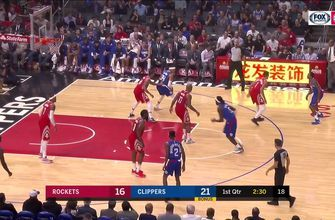 Highlights: Clippers top Rockets 115-112
