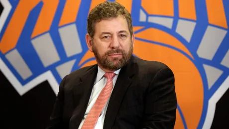 Knicks owner James Dolan tests positive for COVID-19