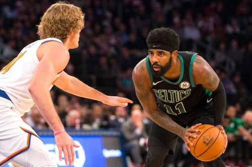 Irving: I'm happy with Celtics but Knicks were 'strong consideration'
