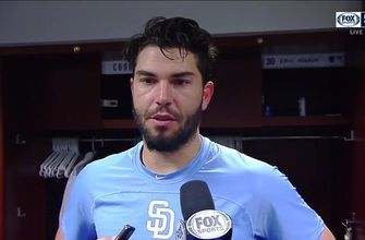 Eric Hosmer after the miraculous 14-13 win