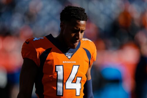 Denver Broncos wide receiver Courtland Sutton out for season with torn ACL, per reports