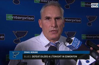 Berube: Blues' win over Oilers was a 'real solid team effort'