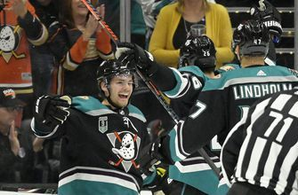 Sabres rally past Ducks, complete Southern California sweep