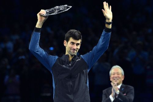 Djokovic sets sights on 2019 after 'phenomenal season'