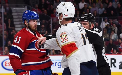 Canadiens' Byron dinged three games for head hit on Panther