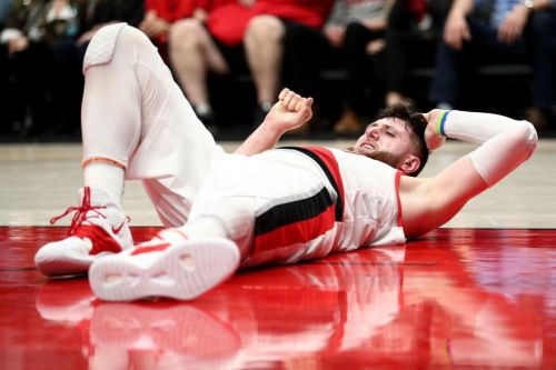 'Devastating': Jusuf Nurkic Suffers Compound Fractures to Left Leg