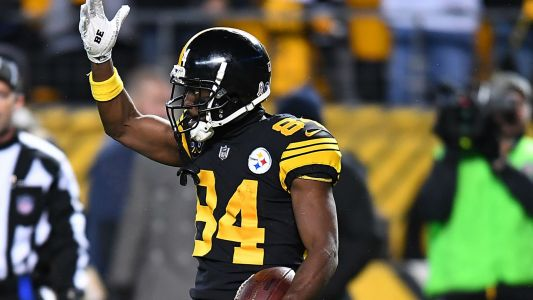 Antonio Brown reportedly absent from Steelers' Monday practice