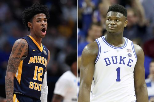 Ja Morant's dad heats up battle with Zion Williamson for No. 1 pick